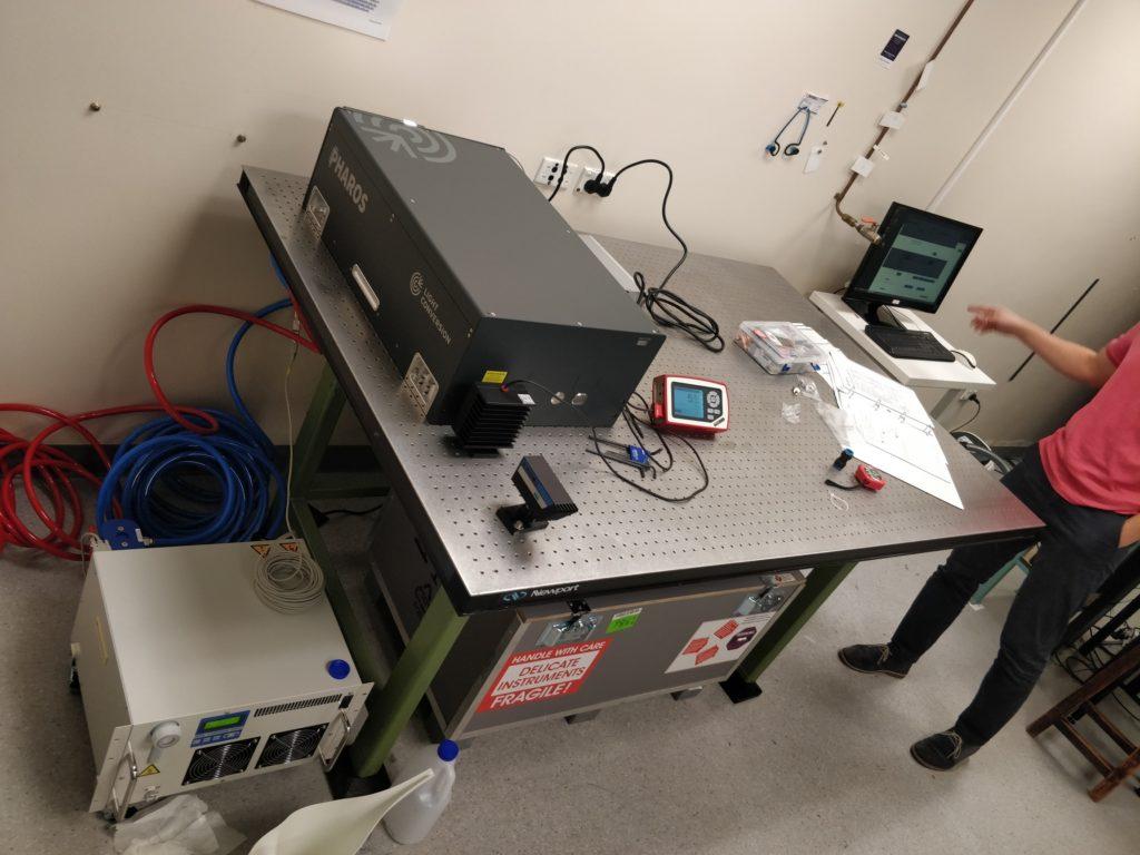 Pharos laser system